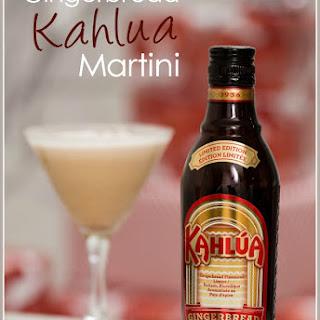 Gingerbread Kahlua Martini.
