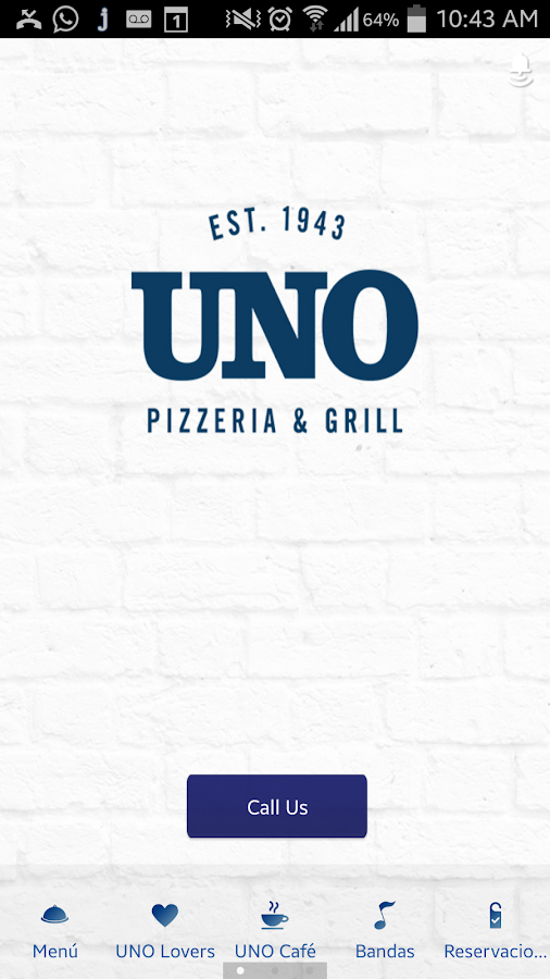 Uno Chicago Grill Honduras- screenshot