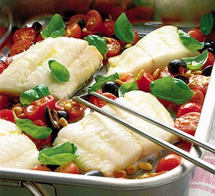 Traditional italian fish dishes