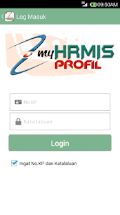 MyHRMIS Profil- screenshot thumbnail