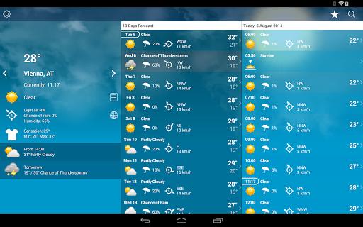 Weather Austria XL PRO  screenshots 9