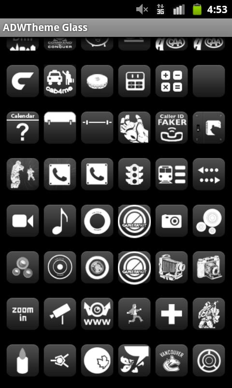 6500+ Glass Icons Pack Pro ADW- screenshot