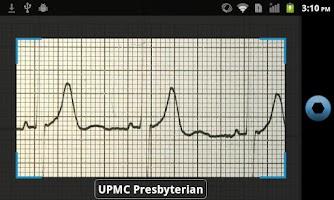 Screenshot of UPMC EMS Navigator