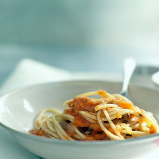 Spaghetti With Roasted Tomato Sauce
