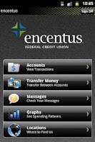 Screenshot of Encentus Mobile