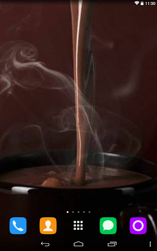 Cup of chocolate Wallpaper