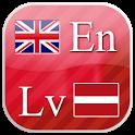 English - Latvian flashcards icon