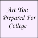 Are You Prepared For College logo
