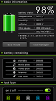 Screenshot of Cool Battery