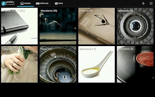 Screenshot of Portfolio for Android