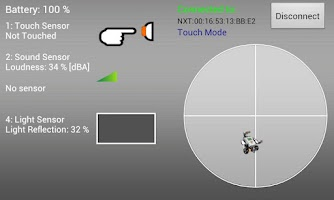 Screenshot of NXT Controller Plus
