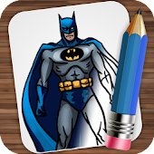 Download Drawing Super Heroes APK on PC