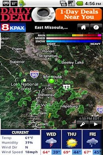 KPAX WX - screenshot thumbnail