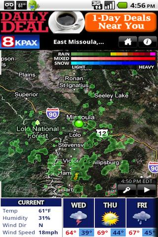 KPAX WX - screenshot
