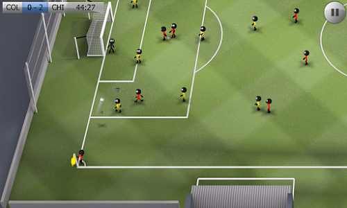 Screenshot 2 Stickman Soccer - Classic 3.1 APK MOD