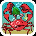 Crazy Crab Treasure Puzzle icon