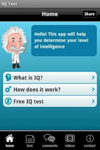 IQ Test with Solutions- screenshot thumbnail