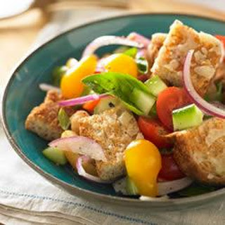 Whole Grain Panzanella Bread Salad