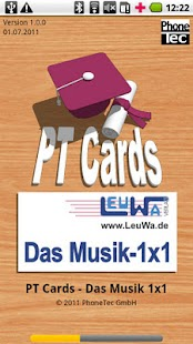 PT Cards Musik 1x1 – Miniaturansicht des Screenshots