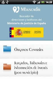 Directorio ministerio justicia android apps on google play for Ministerio de interior y justicia telefonos