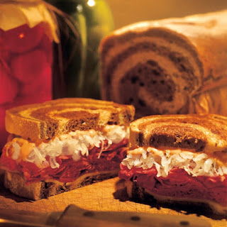 The Perfect Reuben Sandwich.