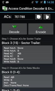 Mifare Classic Tool - MCT - screenshot thumbnail