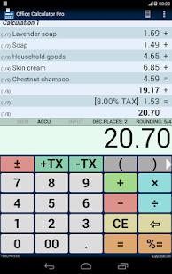 Office Calculator Pro - screenshot thumbnail