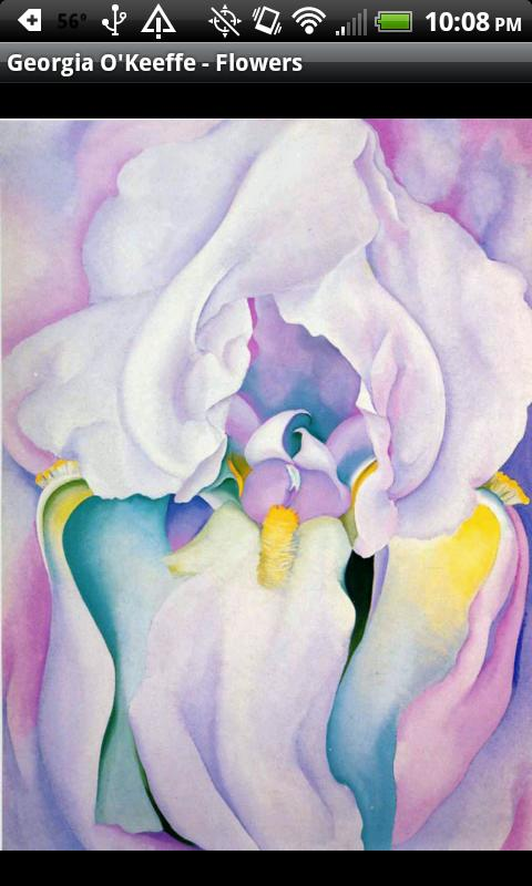 Georgia O'Keeffe - Flowers- screenshot