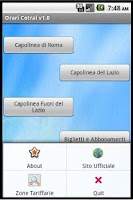 Screenshot of Orari Cotral (Bus Lazio)
