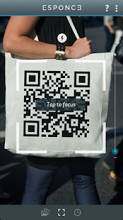 Esponce QR scanner - screenshot thumbnail