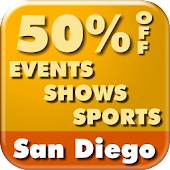 50%Off San Diego Events&Sports