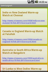 Icc World Cup 2011 - screenshot thumbnail