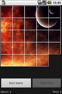 15 Puzzle Space - screenshot thumbnail