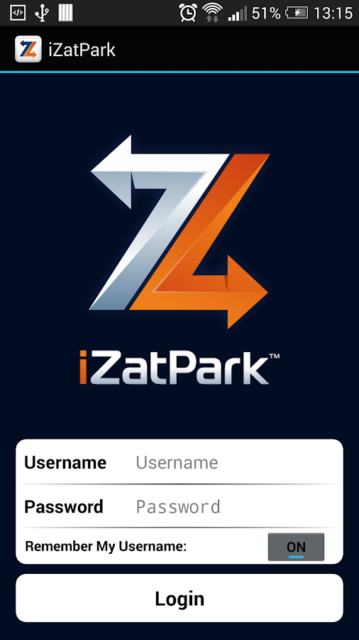 iZatPark- screenshot