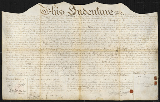 Land Indenture for Bethel African Methodist Episcopal Church (AME), PA, 1810