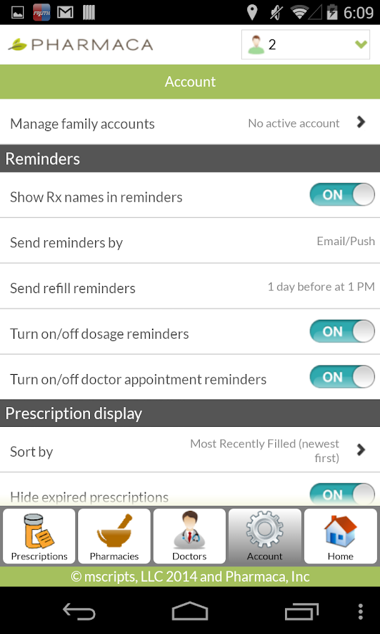 Pharmaca- screenshot