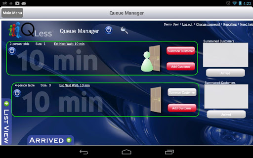 QLess Manager