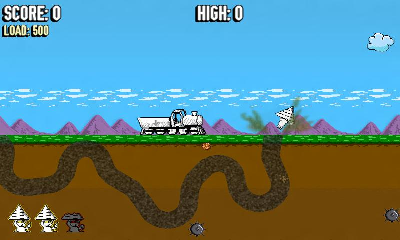 Mega Driller Mole- screenshot