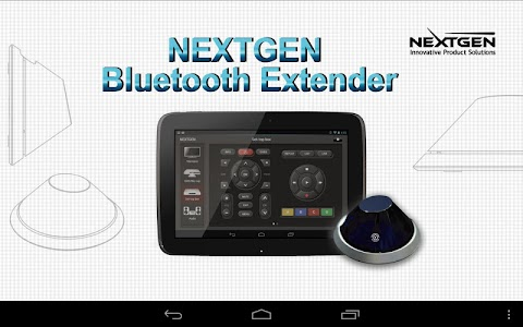 NextGen BT Extender for Tablet screenshot 0