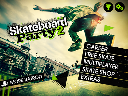 13 Skateboard Party 2 Lite App screenshot