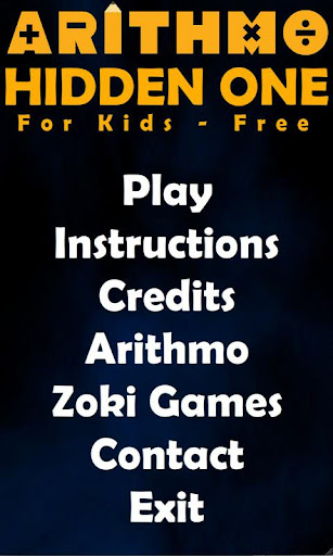 Hidden One Kids Free