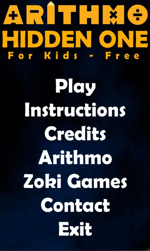 Hidden One Kids Free - screenshot