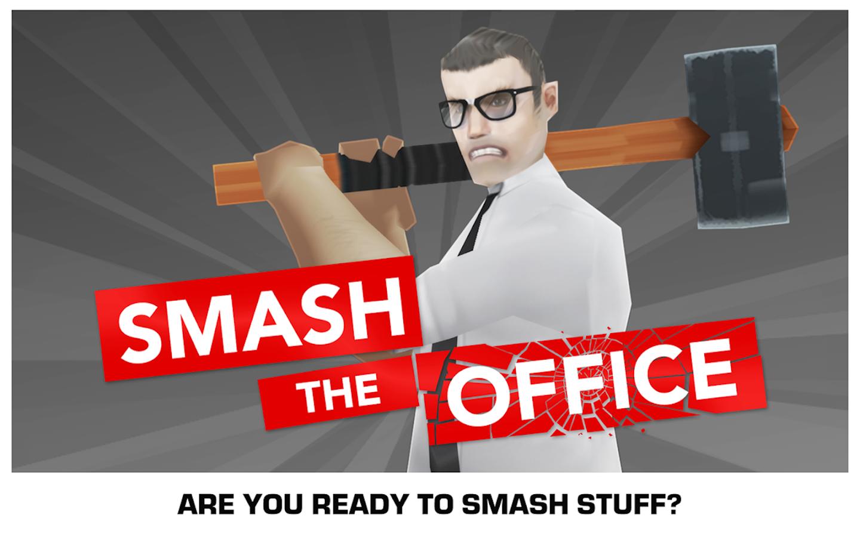 Smash the Office - Stress Fix! - screenshot