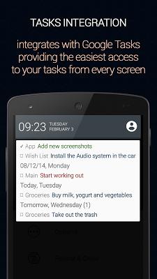 Calendar Status - screenshot