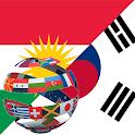 Learn Korean Kurdish icon
