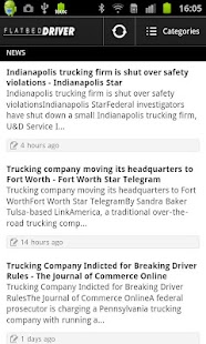 Flatbed Driver - screenshot thumbnail