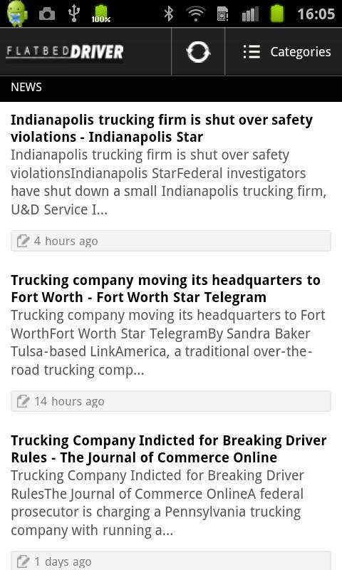 Flatbed Driver - screenshot