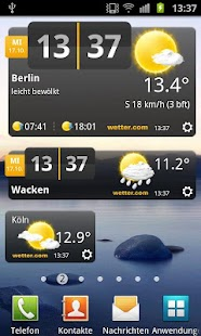 wetter.com - screenshot thumbnail