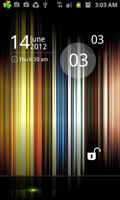 Rainbow Iphone Golocker - screenshot
