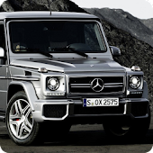 Mercedes G Cars Live Wallpaper